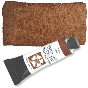 Daniel Smith 15 ml Watercolor Burnt Umber (284 600 011)