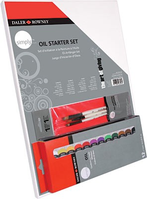 Daler Rowney Simply 150 mL Oil Simply Oil Starter Set (118500005)