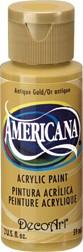 DecoArt Americana 2 oz Acrylic Antique Gold (DA09)