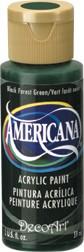 DecoArt Americana 2 oz Acrylic Black Forest Green (DA083)
