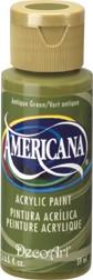 DecoArt Americana 2 oz Acrylic Antique Green (DA147)