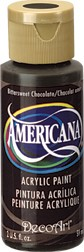 DecoArt Americana 2 oz Acrylic BIttersweet Chocolate (DA195)