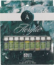 Art Advantage  0.8 lbs Acrylic 18 clr Acrylic Set (ART-3187)