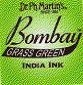 Dr. Ph. Martin's Bombay 1 fl oz Grass Green India Ink (12BY)