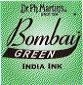 Dr. Ph. Martin's Bombay 1 fl oz Green India Ink (4BY)