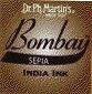 Dr. Ph. Martin's Bombay 1 fl oz Sepia India Ink (24BY)
