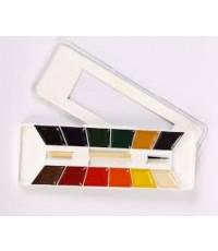 Yarka  0.3 lbs Watercolor Yarka 12-Color Student W/C Set ()