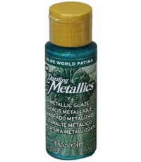 DecoArt Dazzling Metallics 2 oz Acrylic Olde World Patina (DGM04)