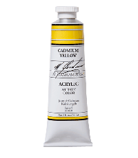 M. Graham  5 oz Acrylic Cadmium Yellow  (52-060)