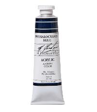 M. Graham  5 oz Acrylic Phthalocyanine Blue  (52-140)