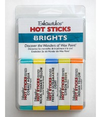 Enkaustikos Hot Sticks 65 mL Encaustic Brights Set (16224)