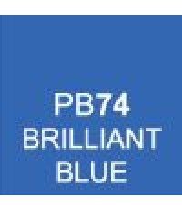 ShinHan TOUCH TWIN Brush Marker Brilliant Blue (PB74)