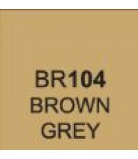 ShinHan TOUCH TWIN Brush Marker Brown Grey (BR104)