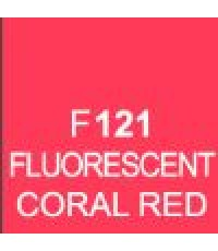 ShinHan TOUCH TWIN Brush Marker Fluorescent Coral Red (F121)