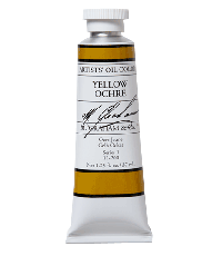 M. Graham  5 oz Oil Yellow Ochre  (51-200)