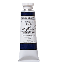 M. Graham  1.25 oz Oil Anthraquinone Blue (11-012)