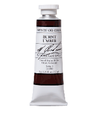M. Graham  1.25 oz Oil Burnt Umber (11-030)