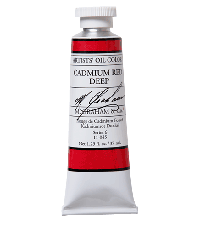 M. Graham  1.25 oz Oil Cadmium Red Deep (11-045)