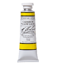 M. Graham  1.25 oz Oil Cadmium Yellow Light (11-070)