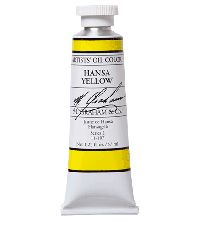 M. Graham  1.25 oz Oil  Hansa Yellow (Lemon) (11-107)