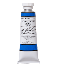 M. Graham  1.25 oz Oil Manganese Blue (11-114)