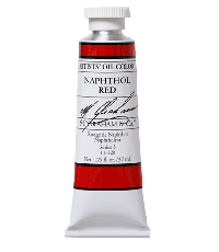 M. Graham  1.25 oz Oil Naphthol Red (11-120)