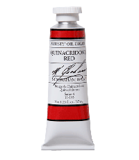 M. Graham  1.25 oz Oil Quinacridone Red (11-155)