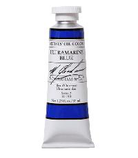 M. Graham  1.25 oz Oil Ultramarine Blue (11-190)