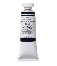 M. Graham  0.5 oz Watercolor Anthraquinone Blue (33-012)