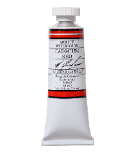 M. Graham  0.5 oz Watercolor Cadmium Red (33-040)