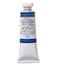 M. Graham  0.5 oz Watercolor Manganese Blue Hue (33-114)