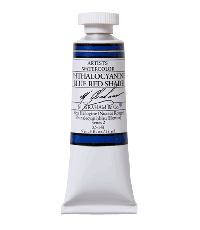 M. Graham  0.5 oz Watercolor Phthalo Blue Red (33-141)