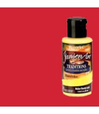 DecoArt Traditions 3 oz Acrylic Naphthol Red (DAT02-35)