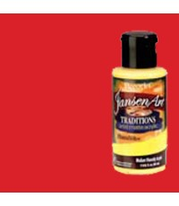 DecoArt Traditions 3 oz Acrylic Naphthol Red Light (DAT03-35)