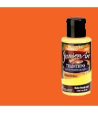 DecoArt Traditions 3 oz Acrylic Perinone Orange (DAT08-35)
