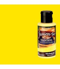 DecoArt Traditions 3 oz Acrylic Hansa Yellow (DAT14-35)