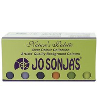Jo Sonja Background Color 1.5 lbs Acrylic Clear Color Collection (JJ3867)