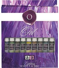Art Advantage  0.8 lbs Oil 18 Color Oil Set (ART-3186)
