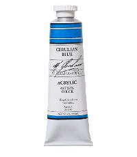 M. Graham  2 oz Acrylic Cerulean Blue (22-080)