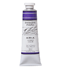 M. Graham  2 oz Acrylic Dioxazine Purple (22-100)