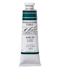M. Graham  2 oz Acrylic Phthalocyanine Green (22-150)