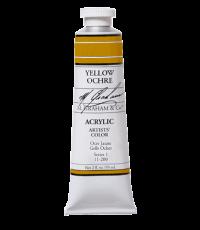 M. Graham  2 oz Acrylic Yellow Ochre (22-200)