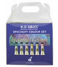 Jo Sonja Iridescent 0.25 lbs Acrylic Iridescent Specialty Set (JJ3874)