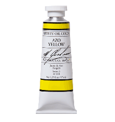 M. Graham  5 oz Oil Azo Yellow  (51-018)