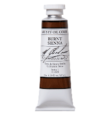 M. Graham  5 oz Oil Burnt Sienna  (51-020)