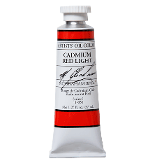 M. Graham  5 oz Oil Cadmium Red Light  (51-050)