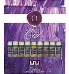 Art Advantage  0.8 lbs Oil 18 Color Oil Set (ART-3186)
